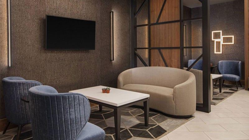 M Club Marriott Lobby